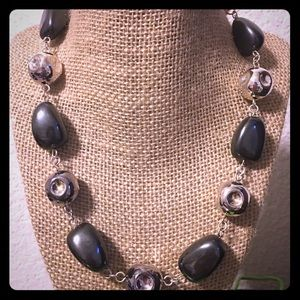 RLM Studio Sterling Silver and Hematite Necklace